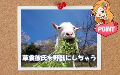 【チェリーミー】草食彼氏を野獣にしちゃう小賢しさ満載の6つのテクニック