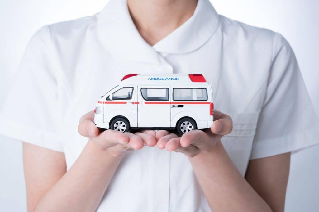ナースと救急車