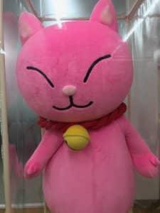 LCラブコスメのイメージキャラクターである猫さん