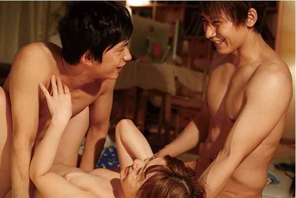 Triangular of the beginning 月野帯人さんと東惣介さん3P