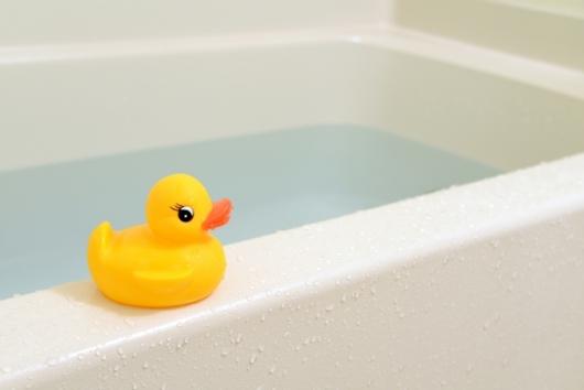 お風呂とアヒルちゃん