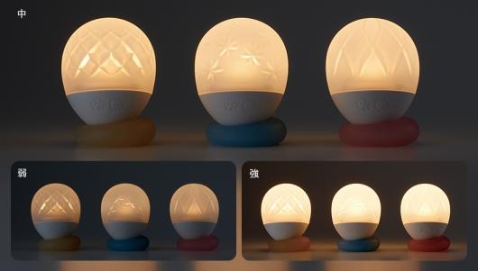 iroha ukidaruaの光調節と光パターン